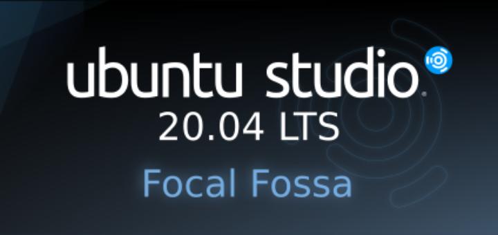 Ubuntu Studio 20.04 Official Banner