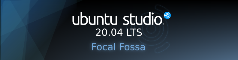 Ubuntu Studio 20.04 Official Banner