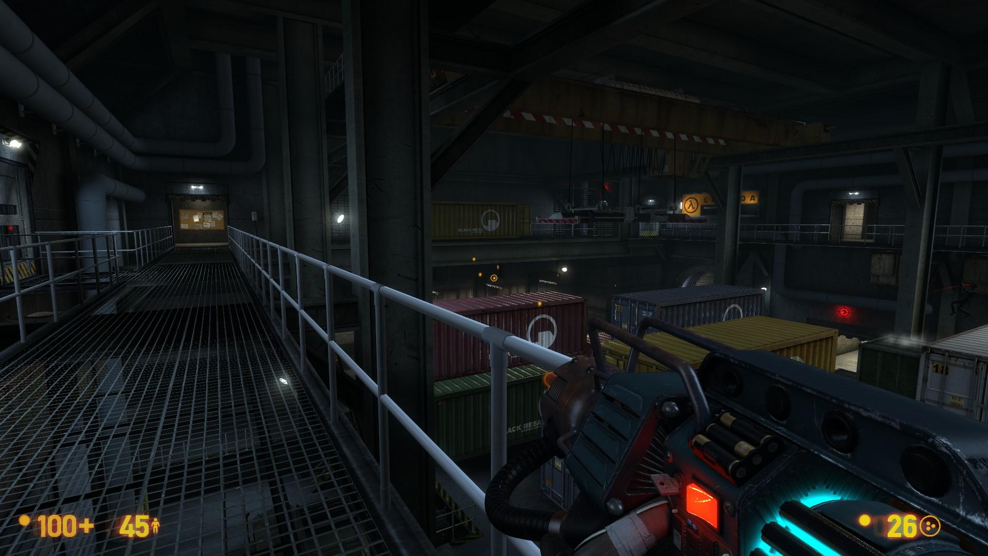 Black Mesa gameplay graphics
