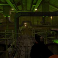 Black Mesa Glock in game graphics
