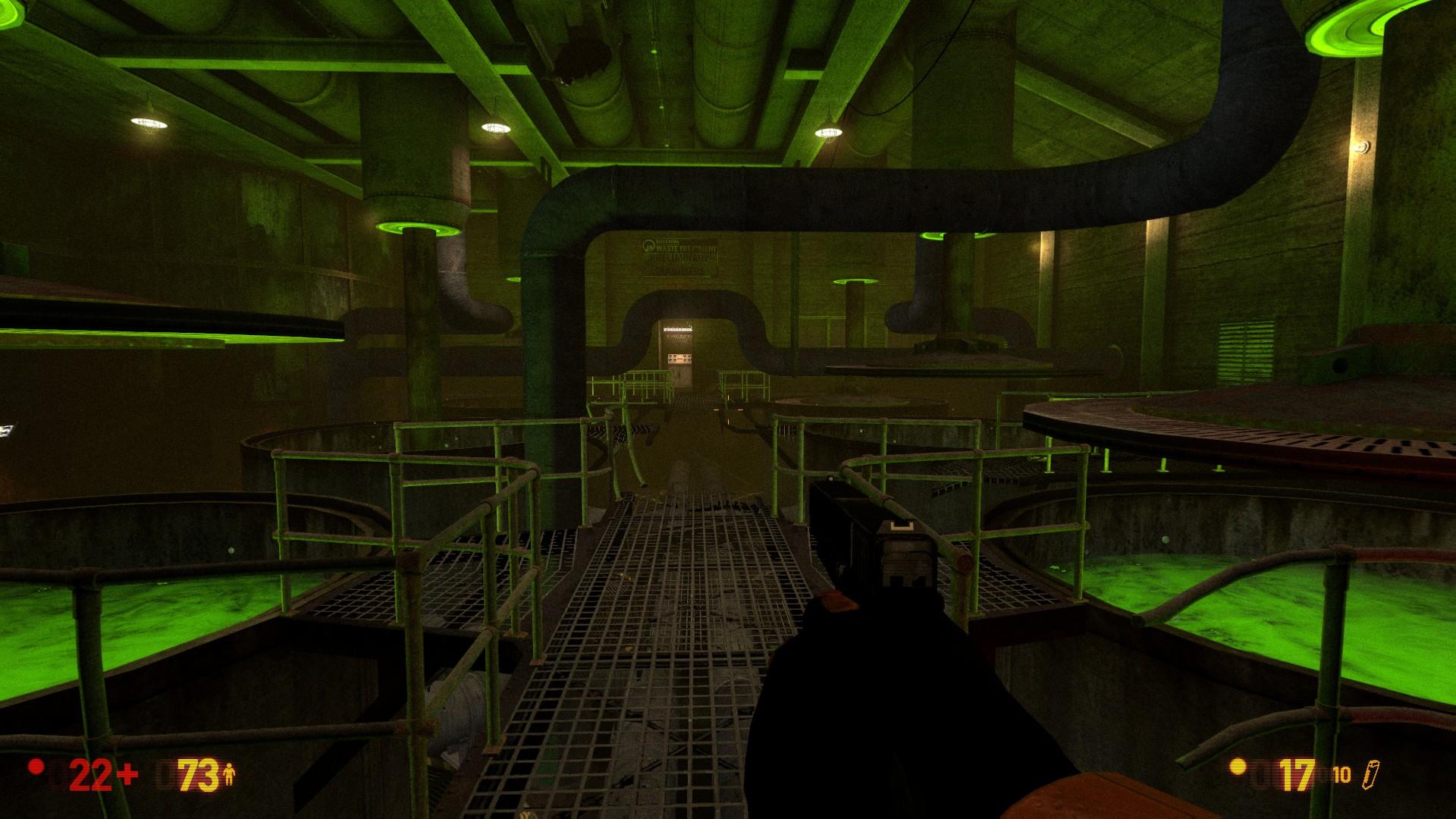 Black Mesa Glock in game graphics
