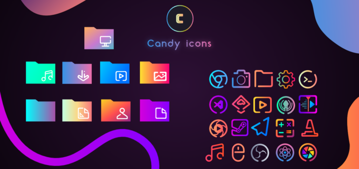 Candy Icons Preview
