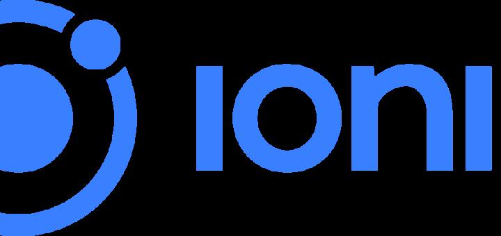 ionic framework official logo