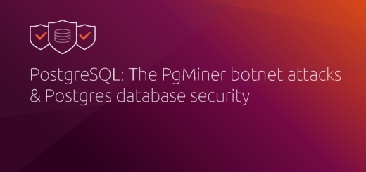 PostgreSQL: The PgMiner botnet attacks & Postgres database security | Ubuntu