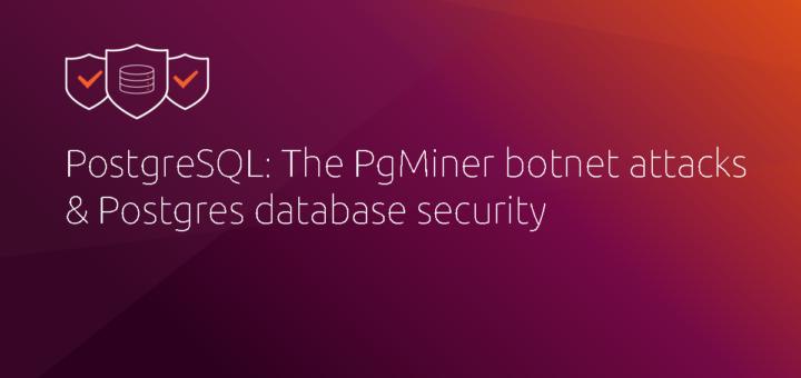 PostgreSQL: The PgMiner botnet attacks & Postgres database security | Ubuntu