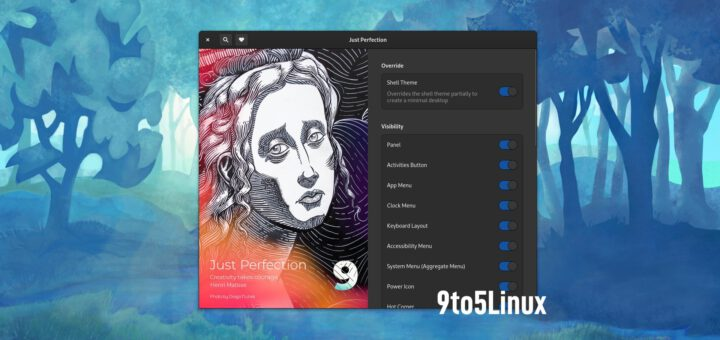 'Just Perfection' GNOME Shell Extension Now Lets You Customize Your GNOME 40 Desktop - 9to5Linux