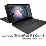 Lenovo ThinkPad P1 Gen 3 Laptop Is Now Available with Fedora Linux - 9to5Linux