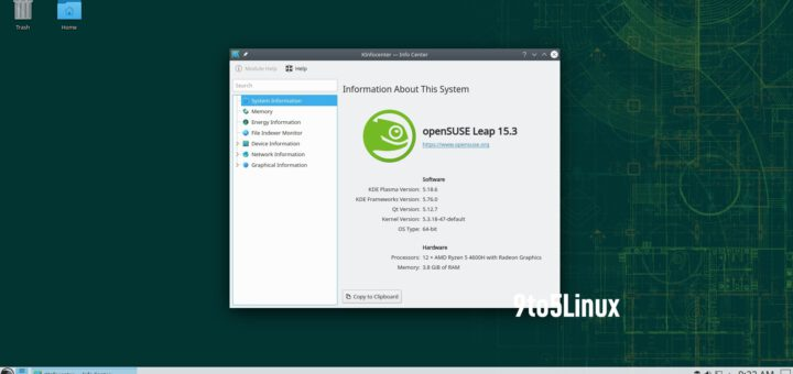 openSUSE Leap 15.3 Released for Public Beta Testing, Download Now - 9to5Linux