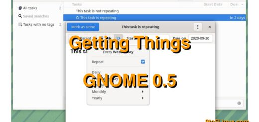 Getting Things GNOME 0.5 To-Do App Released with Recurring Tasks, Performance Improvements - 9to5Linux