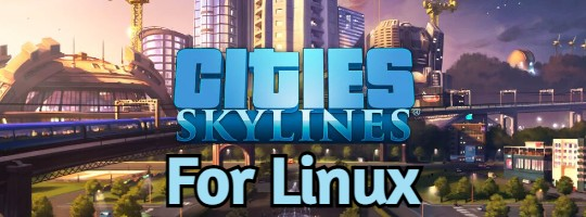 Cities Skylines logo for Linux