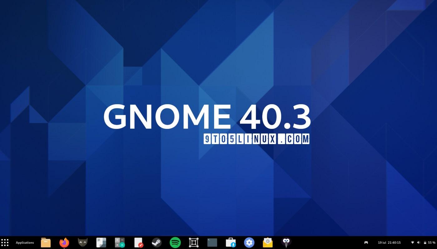 GNOME 40.3