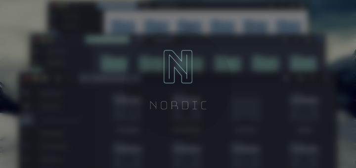 Nordic theme preview